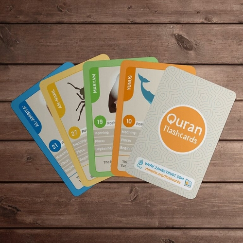 Quran Flash Cards for teen-adults – UK Only